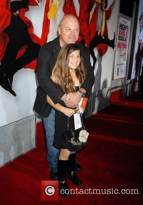 Michael Chiklis and daughter The Los Angeles Premiere...