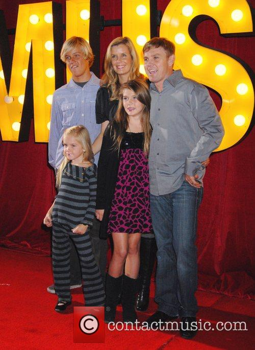 Ricky Schroder and family The Los Angeles Premiere...