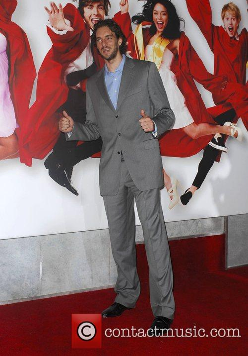 Paul Gasol The Los Angeles Premiere of 'High...