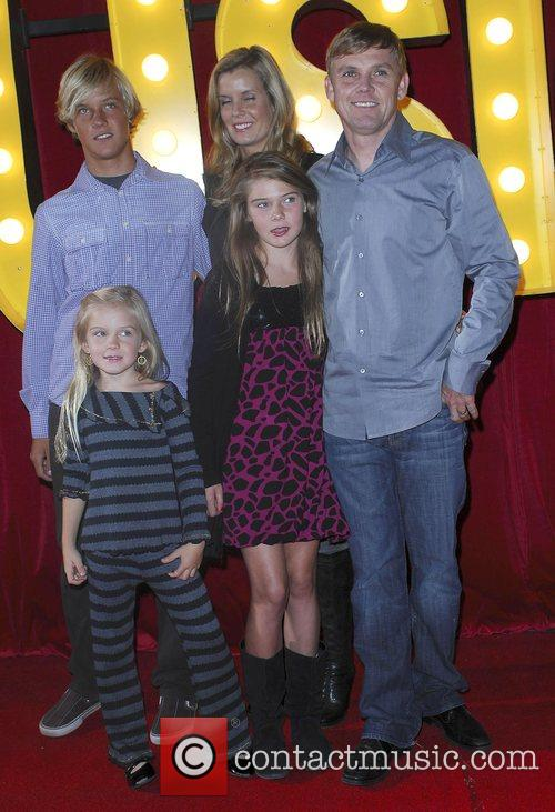 Rick Schroder with his family The Los Angeles...