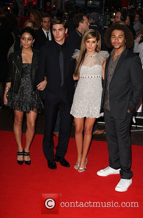 Vanessa Hudgens, Ashley Tisdale, ZAC EFRON, Empire Leicester Square