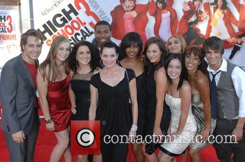 Choreographer, Bonnie Story with cast The Los Angeles...