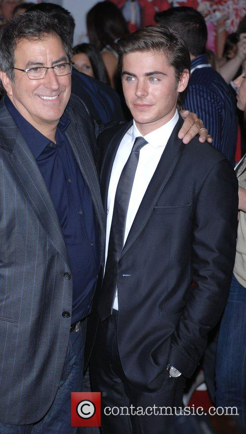 Zac Efron and Kenny Ortega The Los Angeles...