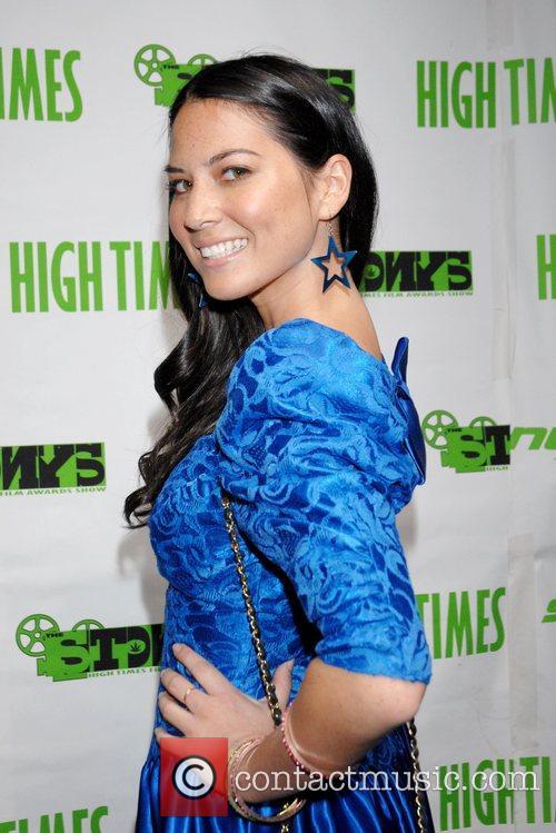 Olivia Munn attends the High Times Magazine '8th...