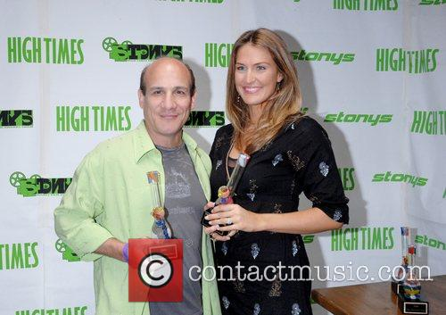 Paul Ben-Victor and guest attends the High Times...