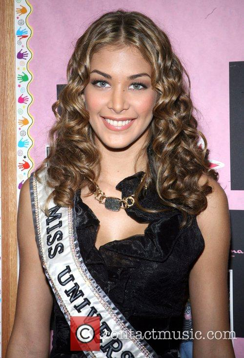 Miss Universe Dayana Mendoza attends the 'Blessings in...