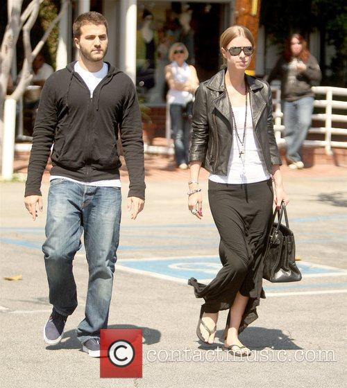 Leaving Fred Segal in West Hollywood after having...