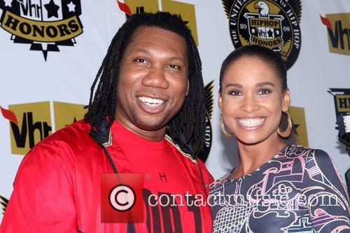 KRS ONE and Joy Bryant 2008 VH1 Hip...