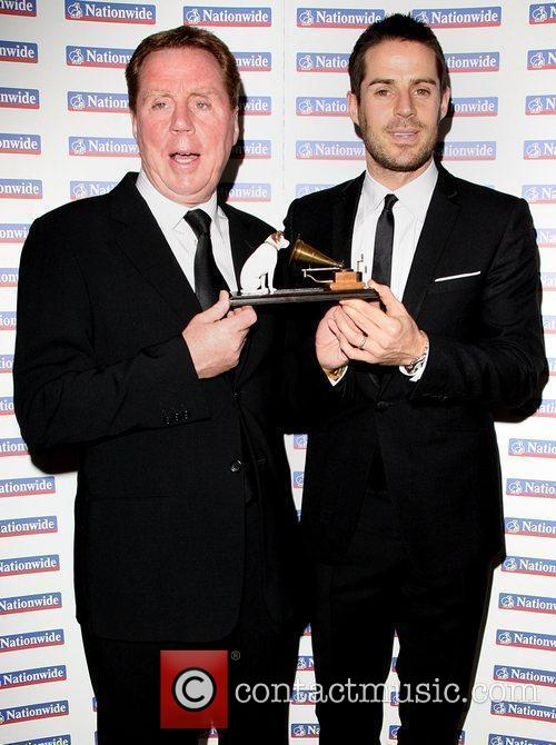 Harry Redknapp and Jamie Redknapp Harry Redknapp receives...