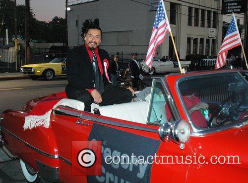 Gregory Cruz at the Hollywood Santa's Parade Los...
