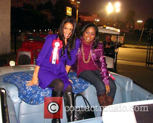 Guests at the Hollywood Santa's Parade Los Angeles,...