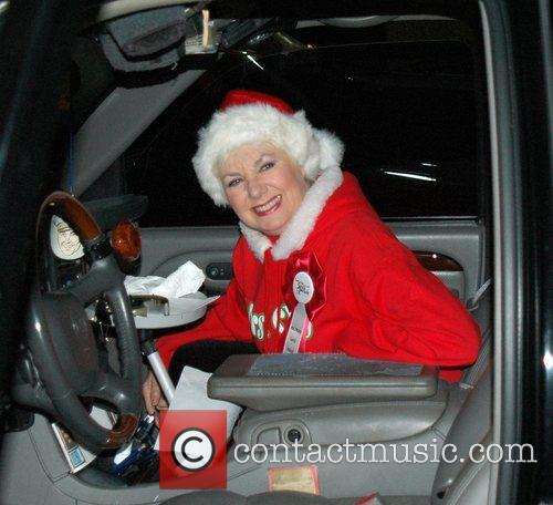 Mrs Xmas at the Hollywood Santa's Parade Los...