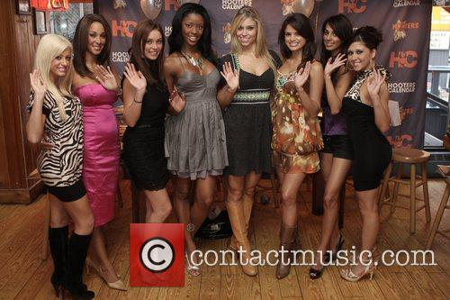 2009 Hooters Swimsuit Calendar launch - Day 2...