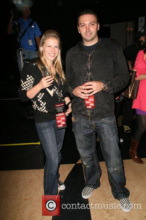 Jodie Sweetina with her husband Cody Herpin Eyegore...