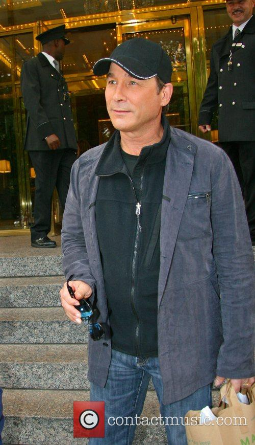 Country Recording artist Clint Black outside his Manhatten...