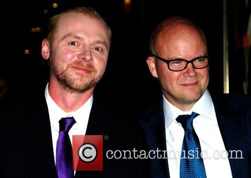 Simon Pegg and Toby Young 1