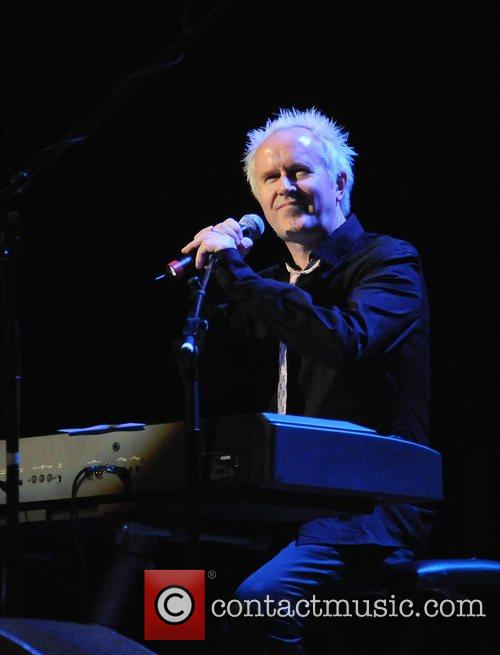 Howard Jones performs during his 25th anniversary concert...