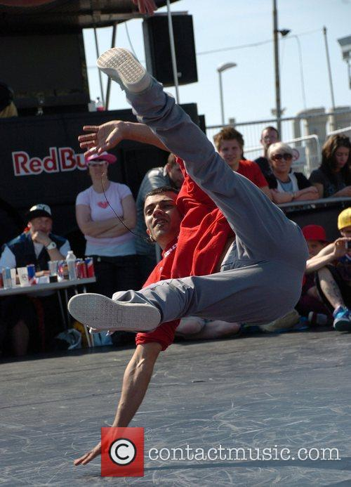 Breakdancers Perform At The Hub Festival Held At Wellington Dock 6