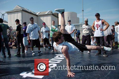 Breakdancers Perform At The Hub Festival Held At Wellington Dock 5