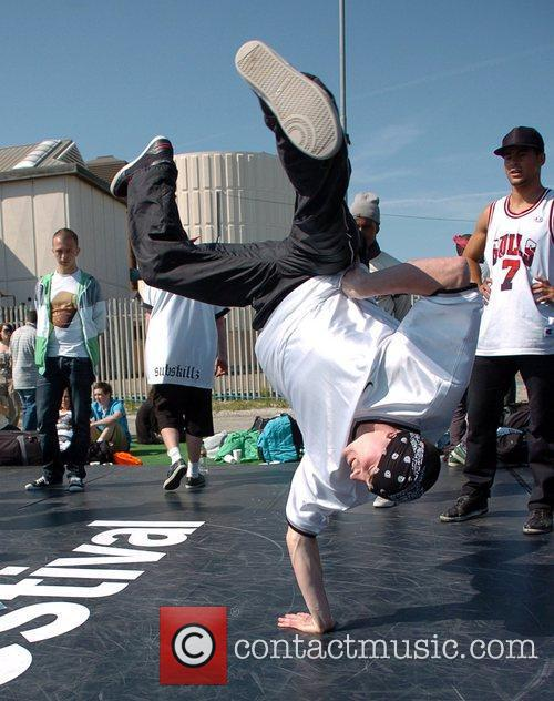 Breakdancers Perform At The Hub Festival Held At Wellington Dock 2