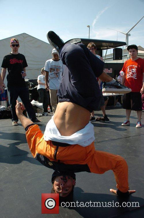 Breakdancers Perform At The Hub Festival Held At Wellington Dock 4