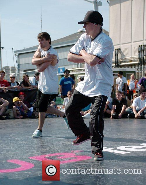 Breakdancers Perform At The Hub Festival Held At Wellington Dock 3