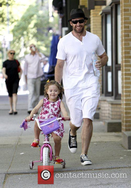 Hugh Jackman takes their daughter Ava Jackman out...