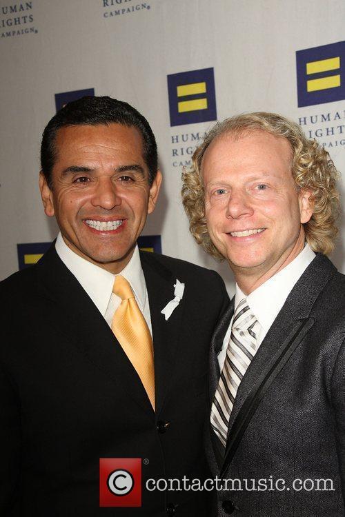 Antonio Villaraigosa, Bruce Cohen Human Rights Campaign's annual...
