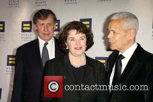 Dianne Feinstein and Julian Bond Human Rights Campaign's...