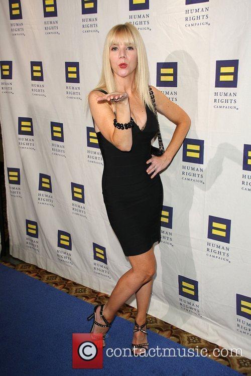 Jennifer Elise Cox Human Rights Campaign's annual gala...