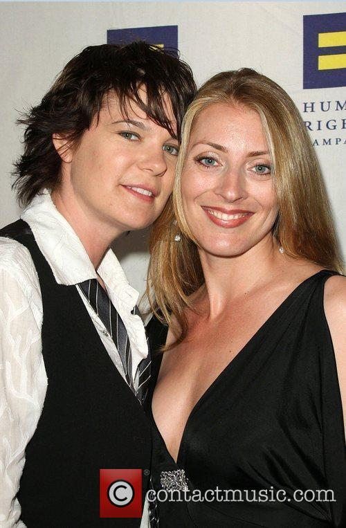 Michelle Wolff, Girlfriend Linda Human Rights Campaign's annual...