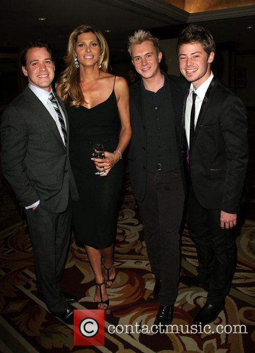 T.r. Knight, Candis Cayne, Andrew Gruver and Mark Cornelsen 5
