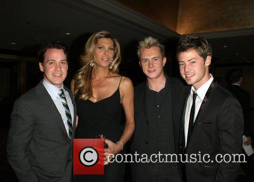 T.r. Knight, Candis Cayne, Andrew Gruver and Mark Cornelsen 2