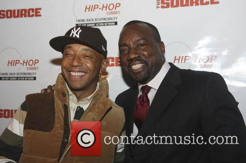 Russell Simmons and Malik Yoba 1