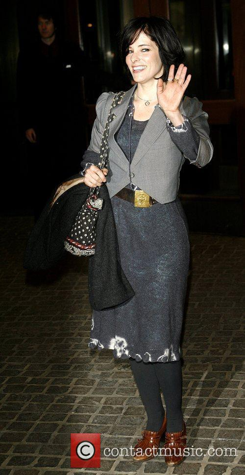 Parker Posey attends a private screening of 'I...