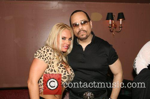 Ice-T and wife Coco aka Nicole Austin at...