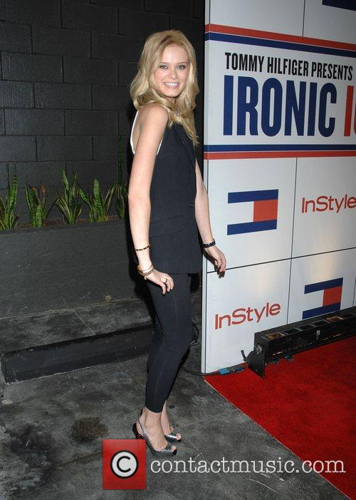 Sara Paxton and Tommy Hilfiger 1