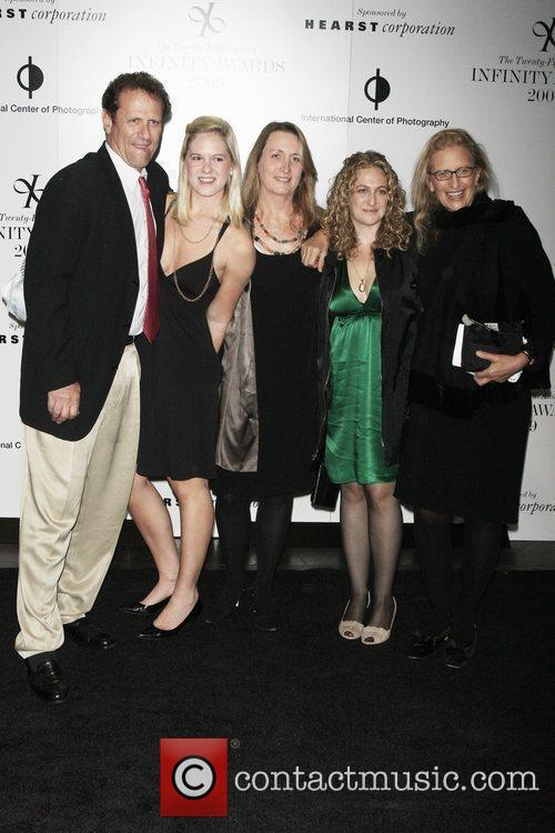 Annie Leibovitz and family 25th annual Infinity Awards...