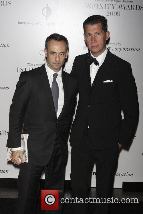 Francisco Costa and Stefano Tonchi 25th annual Infinity...