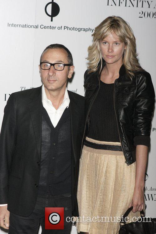 Gilles Mendel and guest 25th annual Infinity Awards...