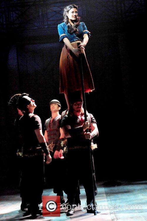 Leila Benn Harris and Cast perform 'Imagine This'...