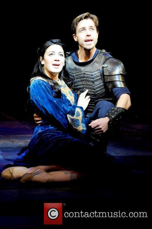 Leila Benn Harris and Simon Gleeson performs 'Imagine...