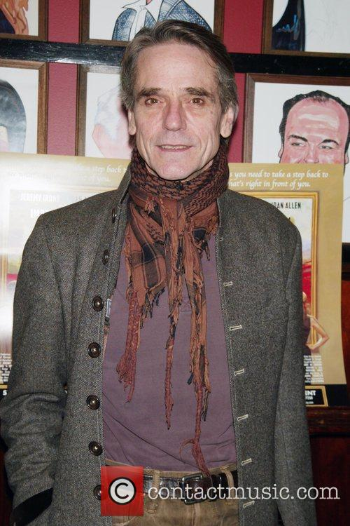 Jeremy Irons Opening night after party for the...