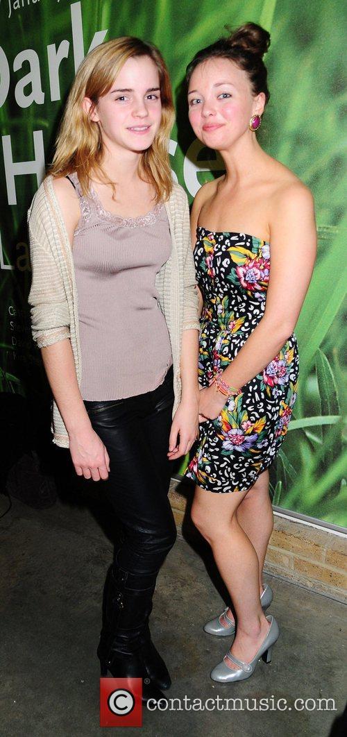 Emma Watson and Cast Actress Kira Sternbach attend...