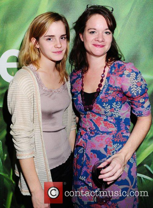 Emma Watson and Vivienne Storry attend the 'In...