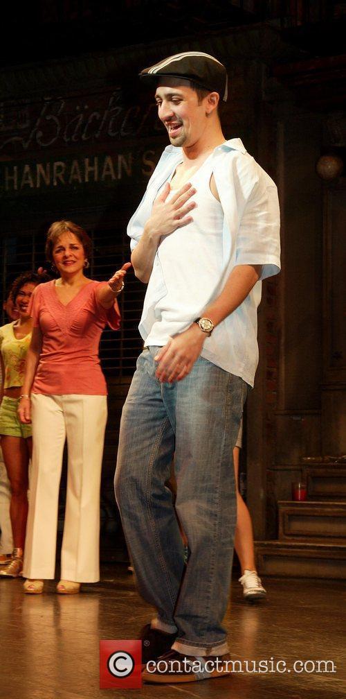 Lin-Manuel Miranda's final performance in the Broadway musical...