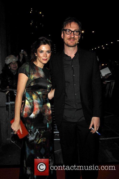 Anna Friel with her husband David Thewlis  British...