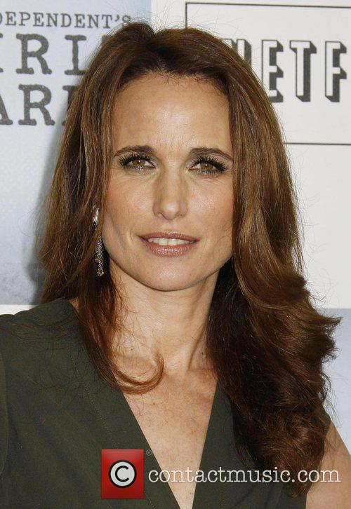 Andie MacDowell 2009 Film Independent's Spirit Awards at...