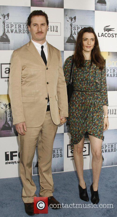 Darren Aronofsky and Rachel Weisz 6
