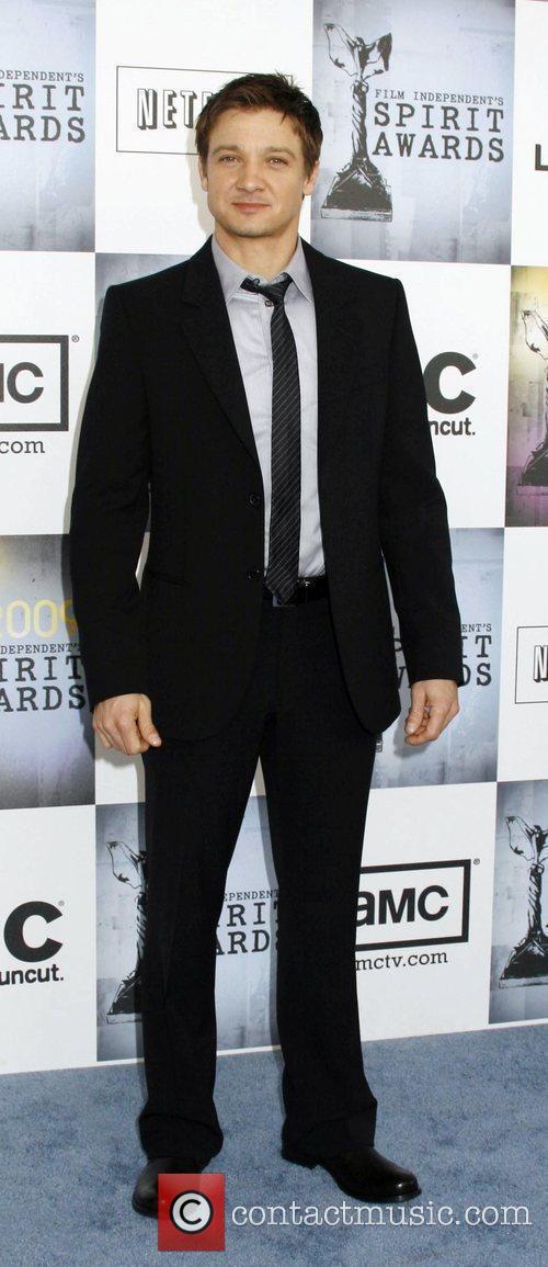 Jeremy Renner 2009 Film Independent's Spirit Awards at...